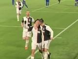 Роналду и Дибала поцеловались в губы во время празднования гола (ФОТО)