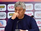 «Шахтер» — «Динамо» — 3:0. Послематчевая пресс-конференция. Луческу: «Не хочу оправдываться: «Шахтер» был лучше»