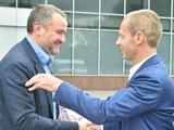 Источник: «Вчера у Павелко состоялся довольно неприятный разговор с президентом УЕФА Чеферином»