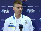 Александр Сирота: «Я доволен, что дебютировал в сборной. Недоволен результатом»