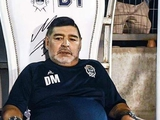 Марадона обновил свой трон на тренерской скамейке «Химнасии» (ФОТО)