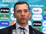 Украина — Англия — 0:4. Послематчевая пресс-конференция. Шевченко: «Я доволен тем, как наша команда выступила»