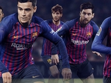 «Барселона» презентовала новую домашнюю форму на следующий сезон (ФОТО)