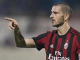 Леонадро Бонуччи отказался играть за «Милан»