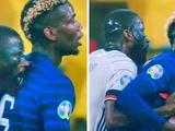 Рюдигер укусил Погба во время матча Франция — Германия (ФОТО)