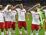 УЕФА открыл дело против Турции за «военный» жест во время празднования голов (ФОТО)