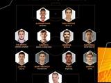 Игрокам «Динамо» не нашлось места в символической сборной 1-го тура Лиги Европы по версии УЕФА