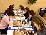 Четвертый тур чемпионата Европы по шахматам среди женщин