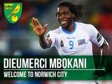 Официально. Дьемерси Мбокани продолжит карьеру в «Норвиче»
