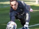 Лунин сдал отрицательный тест на коронавирус и вернулся к тренировкам в «Реале»