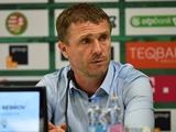 Сергей Ребров: «Необходимо, чтобы все игроки прониклись важностью матча с «Мельде»