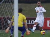 Ибрагимович результативно провел первый матч за «Милан» после возвращения (ВИДЕО)