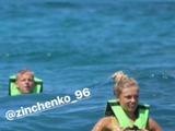 Девушка Зинченко потроллила его из-за небольшого роста (ФОТО)