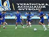 «Динамо» провело тренировку на стадионе «Металлист» за сутки до финала Кубка Украины с «Ворсклой»