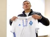 Президент «Динамо» поздравил Александра Усика с первой победой в супертяжелом весе