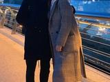 Загадочная незнакомка попозировала с Цыганковым на фоне вечернего Киева (ФОТО)