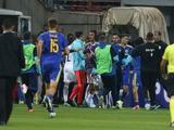 Матч между сборными Боснии и Герцеговины и Греции завершился потасовкой и выбитым зубом (ВИДЕО)