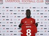 Официально: Наби Кейта — игрок «Ливерпуля». У футболиста 8 игровой номер