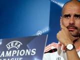 Хосеп Гвардиола: «Намерены надежно сыграть в обороне, забить и выйти в следующий раунд»