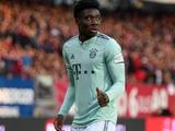 Альфонсо Дэвис развил скорость 35,3 км/ч в матче с дортмундской «Боруссией»