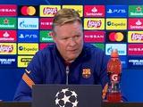Пресс-конференция. Рональд Куман: «Нам нужно улучшить нашу игру, чтобы выиграть у «Динамо»