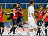 «Ворскла» — «Арсенал-Киев» — 0:2. После матча. Грозный: «Жизнь заставила меня пойти на игру в три нападающих»
