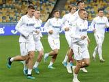 ФОТОрепортаж: тренировка сборной Украины на «Олимпийском» за день до матча с Португалией
