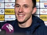 Петр Стасюк: «Считаю, что с «Динамо» мы провели хорошую игру»