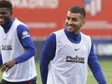Третий футболист «Атлетико» травмировался после возобновления тренировок