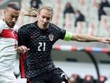 Домагой Вида, будучи заражённым коронавирусом, принял участие в матче Турция — Хорватия