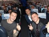 Самолет с «Олимпиком» и «Десной» не смог сесть в Киеве и вернулся в Турцию