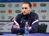 Адриен Рабьо: «В нашей группе все команды будут играть так, как играла против нас Украина»