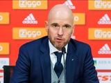 Тренер «Аякса»: «Не удивлен тем, как мы сыграли против «Баварии»