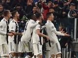 «Ювентус» стал первым клубом, обеспечившим себе место в групповом турнире Лиги чемпионов-2019/20