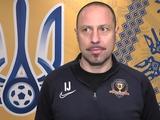 Игор Йовичевич: «Динамо» — будущий чемпион»
