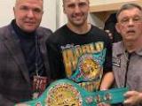 Олександр Гвоздик став четвертим чинним українським чемпіоном світі з боксу