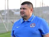 Владимир Мазяр: «Только покинул «Горняк-Спорт», сразу поступило предложение от «Львова»