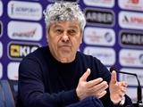 «Динамо» — «Шахтер» — 0:3. Послематчевая пресс-конференция. Луческу: «Выиграл ковид и проиграл фейр-плей»