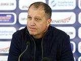 Юрий Вернидуб: «Лучше на позиции Сватка и Приймы я буду наигрывать тех, кто моложе»