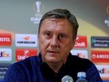 Александр ХАЦКЕВИЧ: «Приехали в Белград за победой, и только за победой»