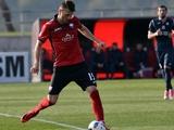 Виталий Вернидуб тренируется с «Зарей» и может подписать контракт с клубом