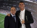Флорентино Перес поздравил Роналду с 35-летием