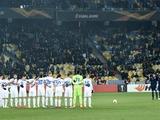 «Динамо» поблагодарило 48902 болельщиков за поддержку в матче с «Олимпиакосом»