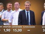 Cреди кандидатов на пост главного тренера сборной Украины — двое иностранцев