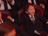 Дети Месси мило отпраздновали рекордный Золотой мяч своего отца