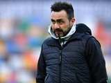 Роберто Де Дзерби: «Луческу — великий тренер. Постараюсь подготовить свою команду наилучшим образом к матчам с «Динамо»