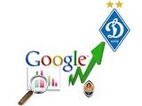 Google-версия: «Динамо» более чем в два раза популярней «Шахтера»
