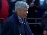 После матча с «Агробизнесом» Луческу пообщался с болельщиками (ВИДЕО)