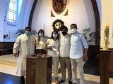 Карлос де Пена крестил сына (ФОТО)