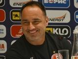 Йиндржих Трпишовски: «Надеюсь, мои футболисты погоняют динамовцев по полю, как осы»
